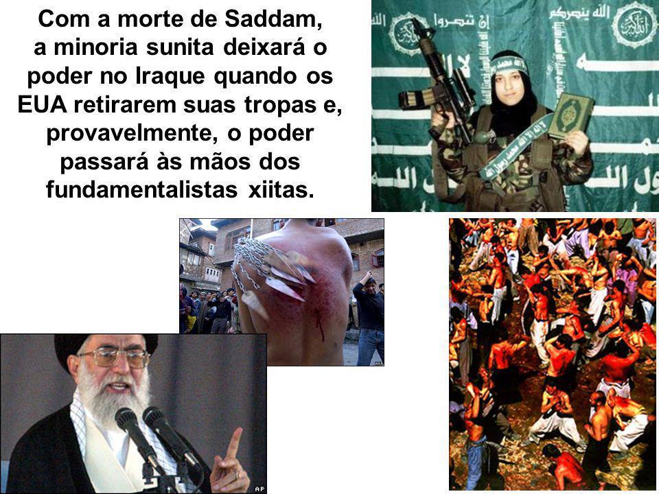 Com a morte de Saddam,