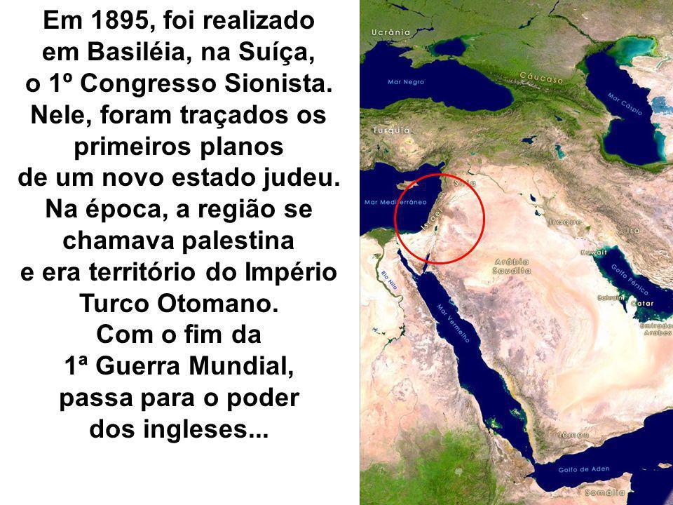 Nele, foram traçados os primeiros planos de um novo estado judeu.