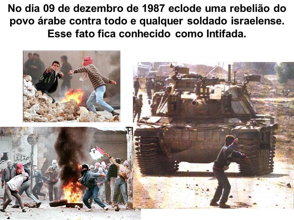 Esse fato fica conhecido como Intifada.