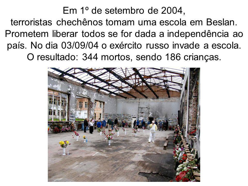 O resultado: 344 mortos, sendo 186 crianças.