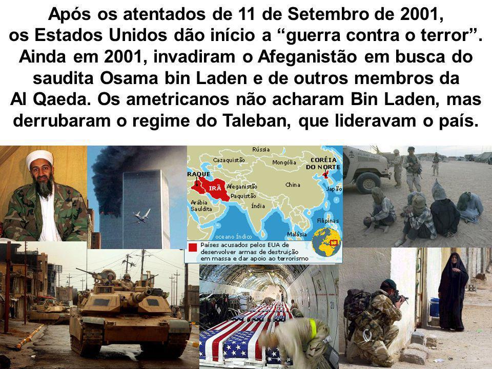 Após os atentados de 11 de Setembro de 2001,