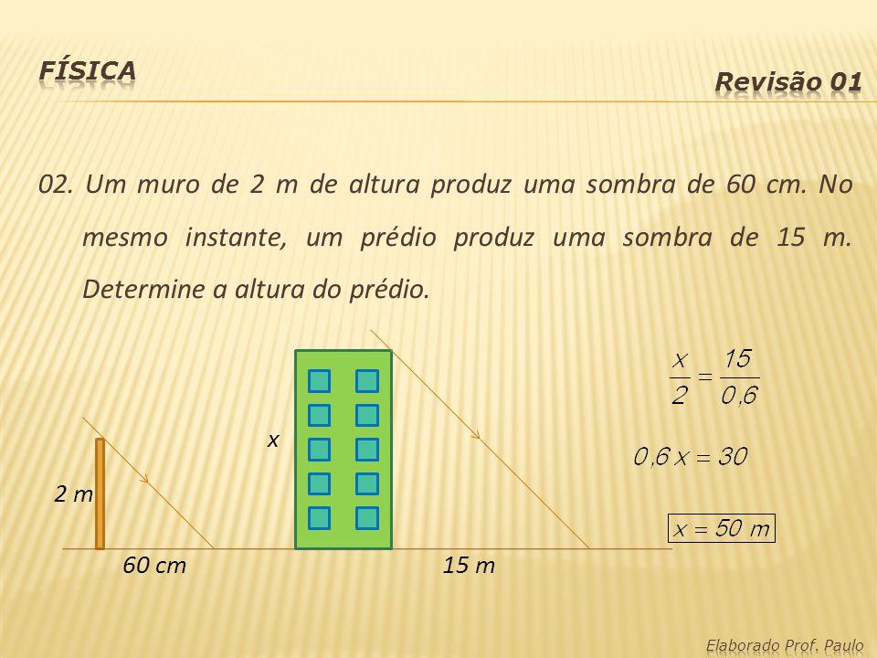 Física Revisão 01.