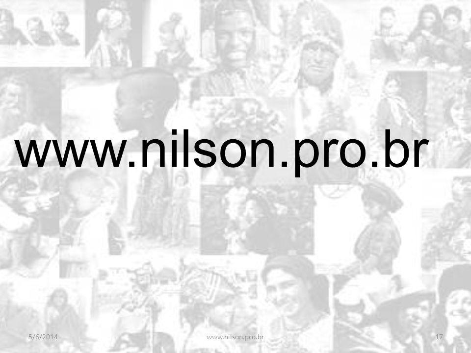 www.nilson.pro.br 01/04/2017 www.nilson.pro.br