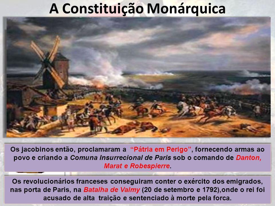 A Constituição Monárquica