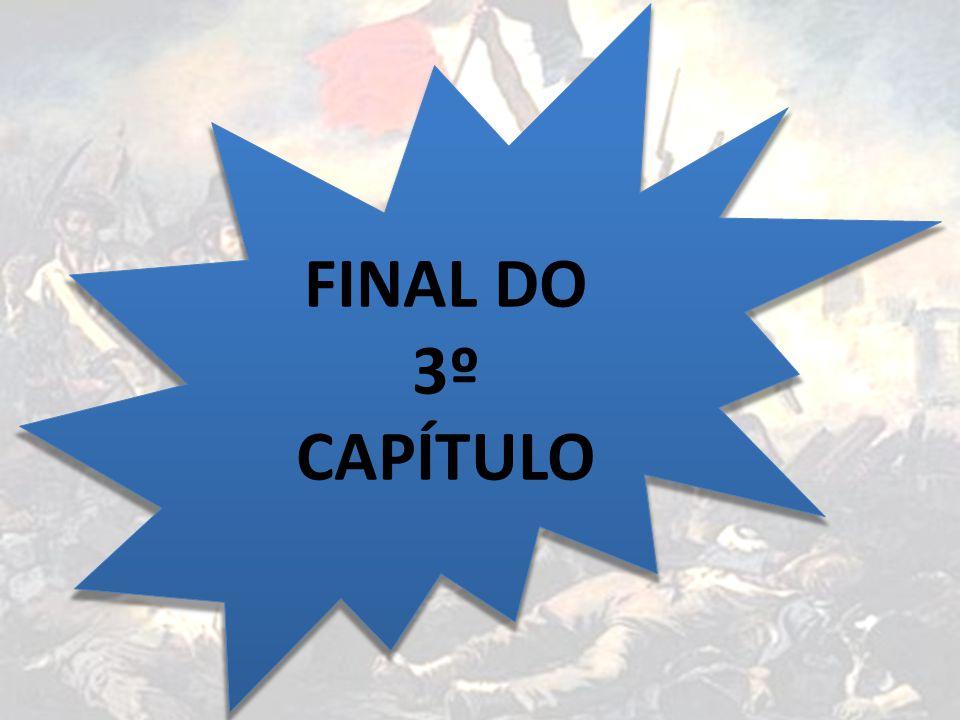 FINAL DO 3º CAPÍTULO O fim da revolução (1799)