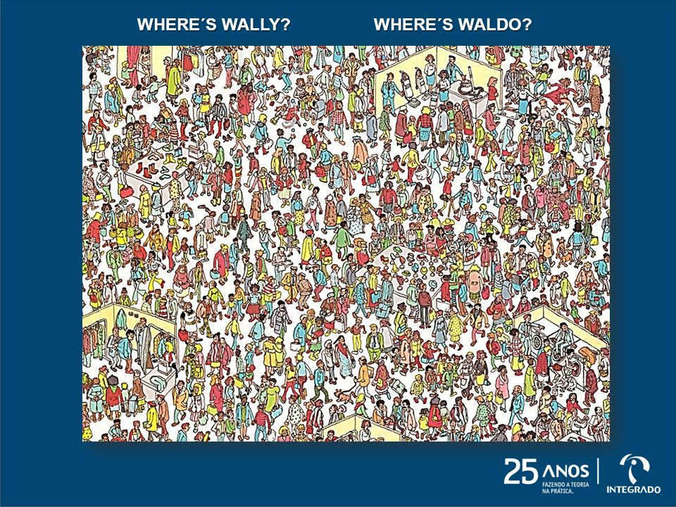 WHERE´S WALLY WHERE´S WALDO