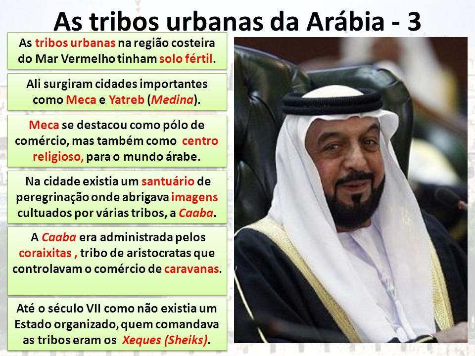 As tribos urbanas da Arábia - 3