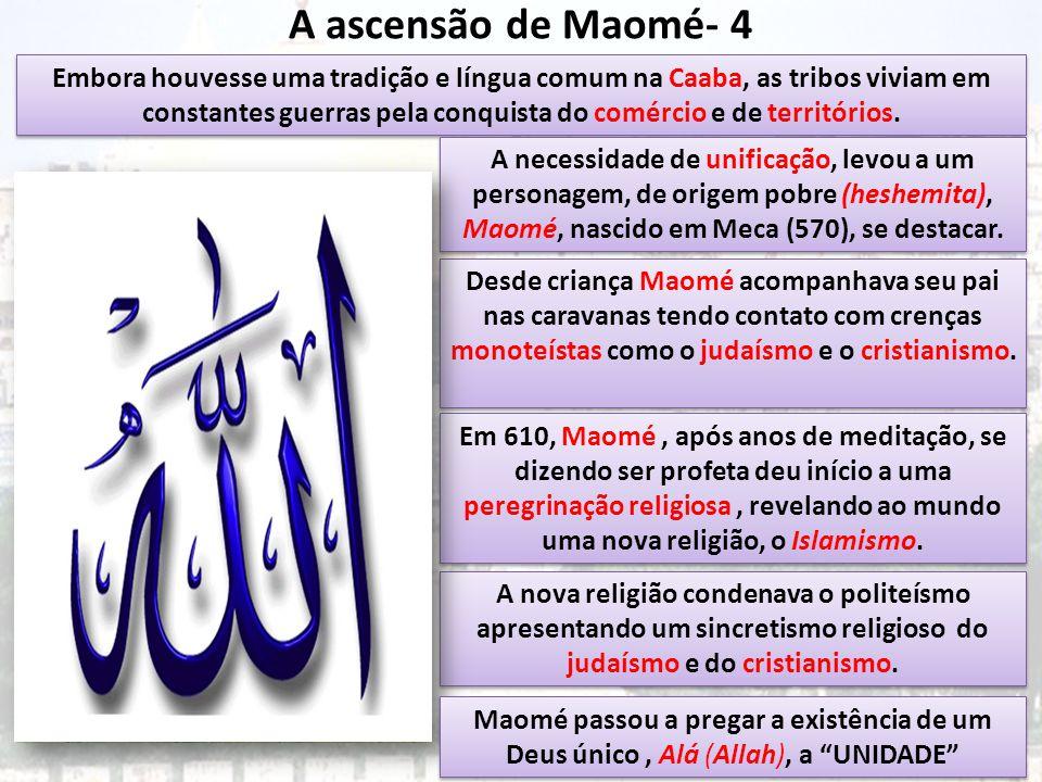 A ascensão de Maomé- 4