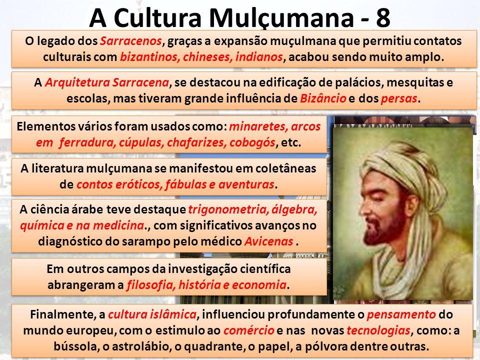 A Cultura Mulçumana - 8