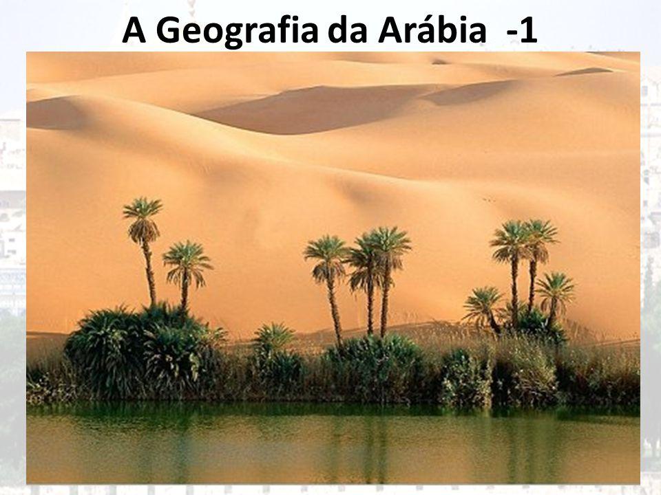 A Geografia da Arábia -1