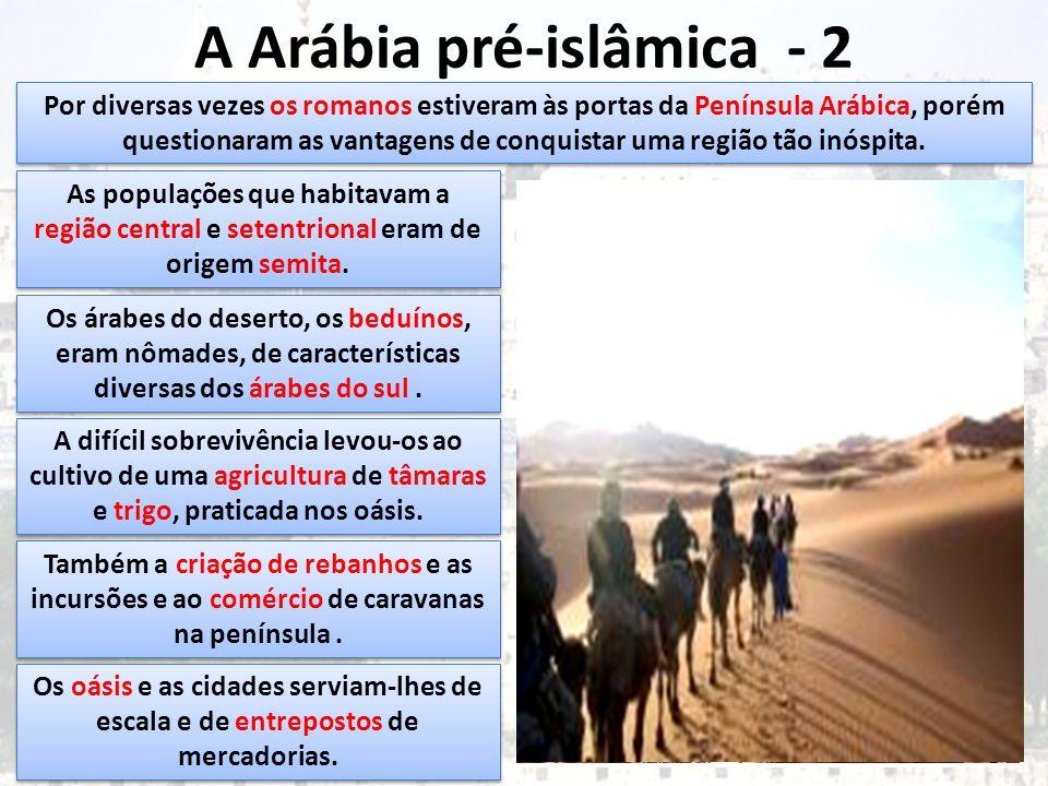 A Arábia pré-islâmica - 2