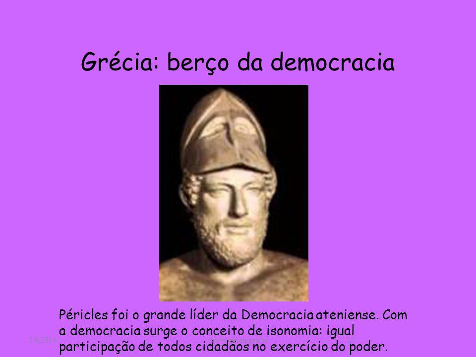Grécia: berço da democracia
