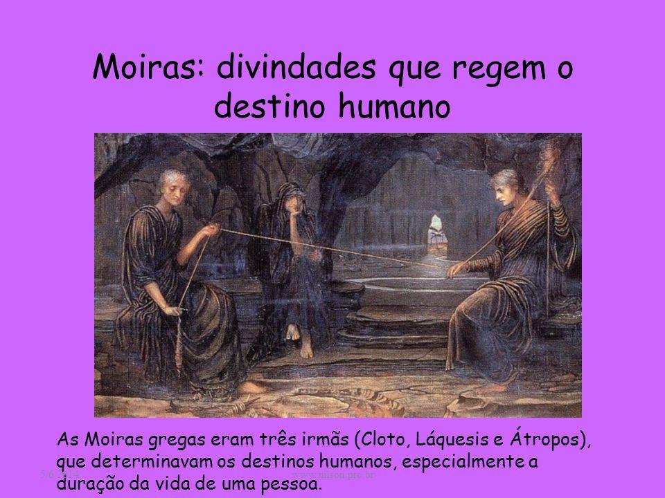 Moiras: divindades que regem o destino humano