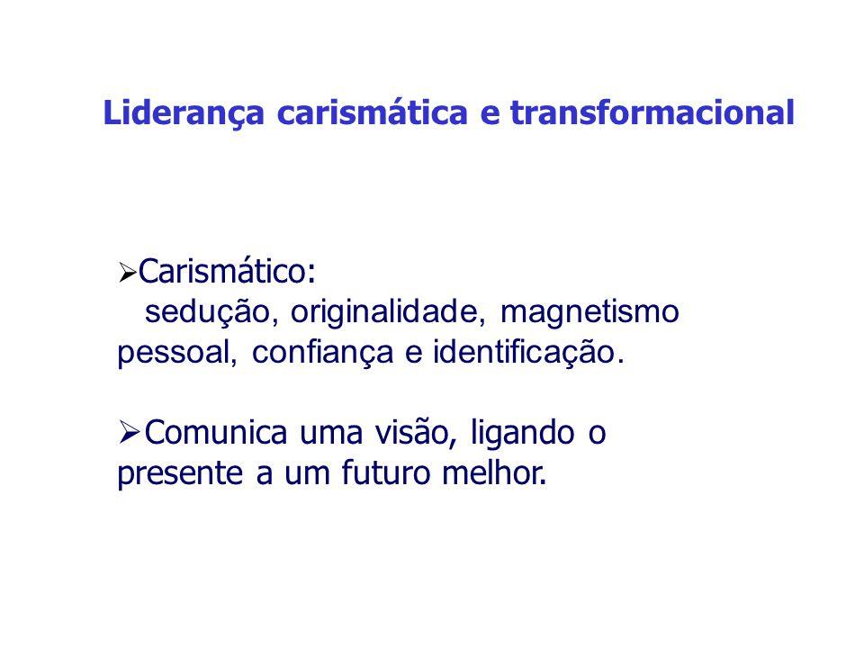 Liderança carismática e transformacional