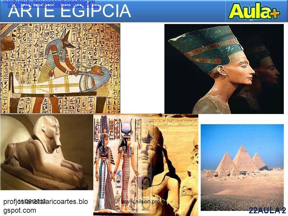 ARTE EGÍPCIA profjosianetalaricoartes.blogspot.com 11/09/2013
