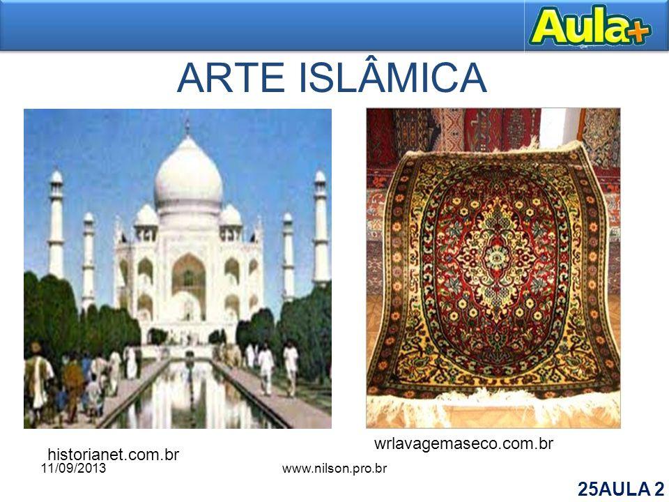 ARTE ISLÂMICA wrlavagemaseco.com.br historianet.com.br 11/09/2013