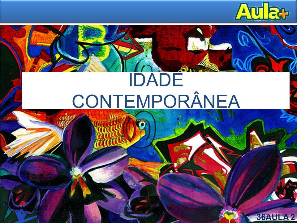 IDADE CONTEMPORÂNEA 11/09/2013 www.nilson.pro.br