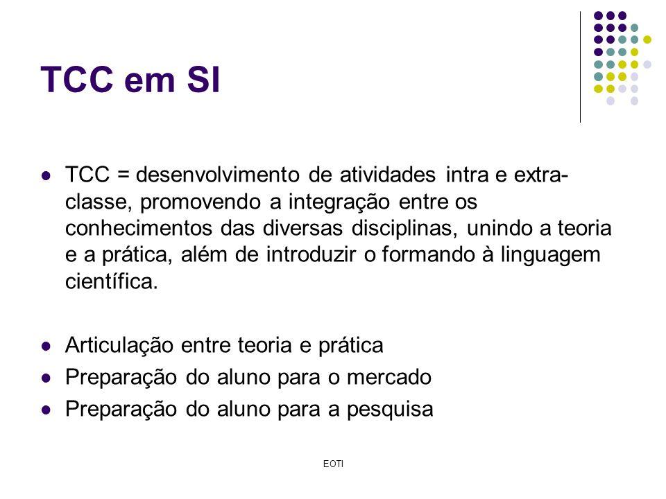 TCC em SI