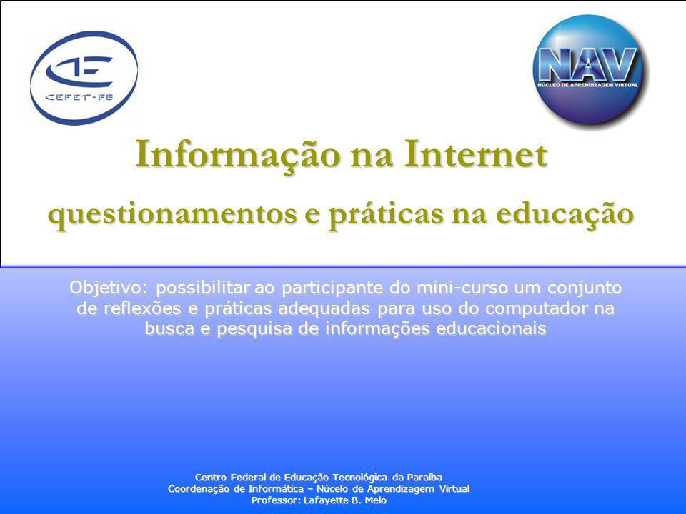 Informação na Internet