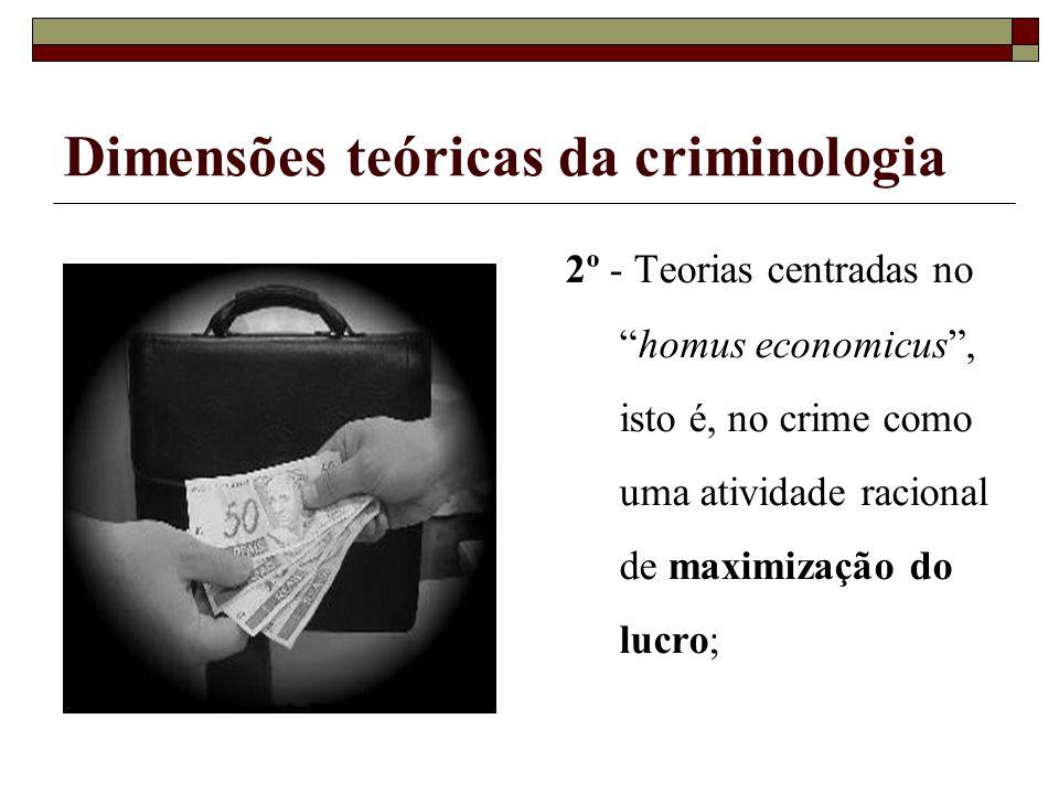 Dimensões teóricas da criminologia
