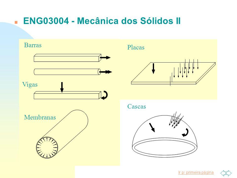 ENG03004 - Mecânica dos Sólidos II