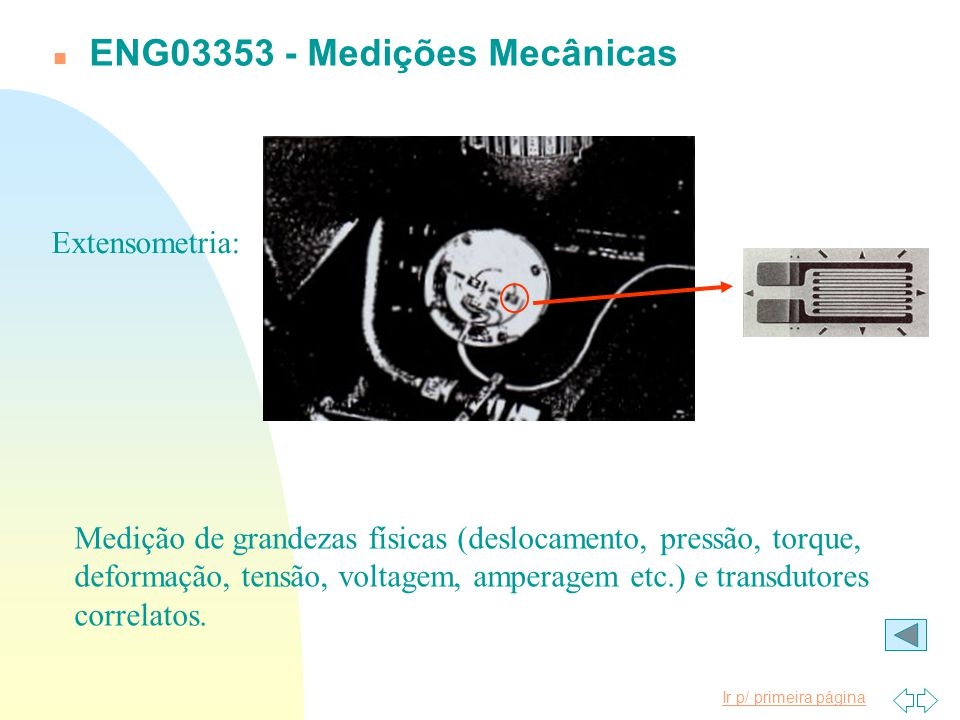 ENG03353 - Medições Mecânicas