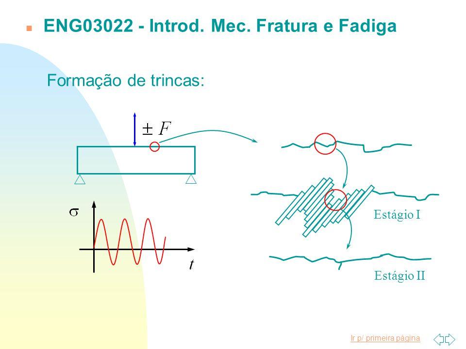 ENG03022 - Introd. Mec. Fratura e Fadiga