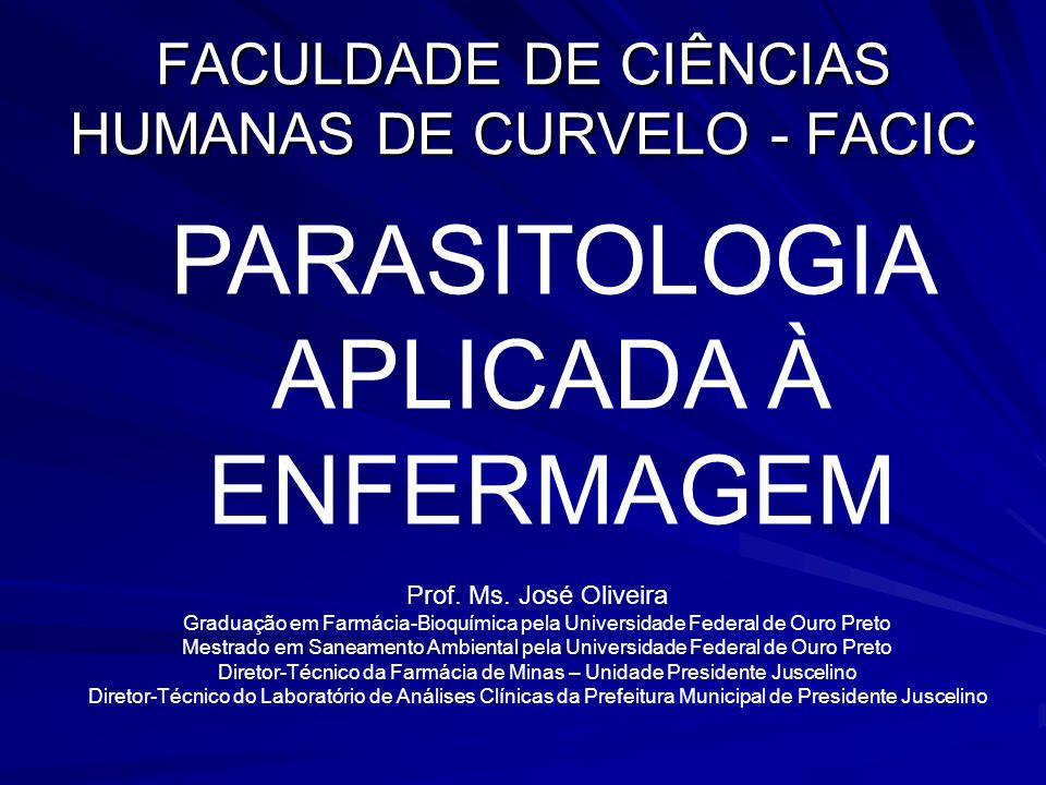 FACULDADE DE CIÊNCIAS HUMANAS DE CURVELO - FACIC