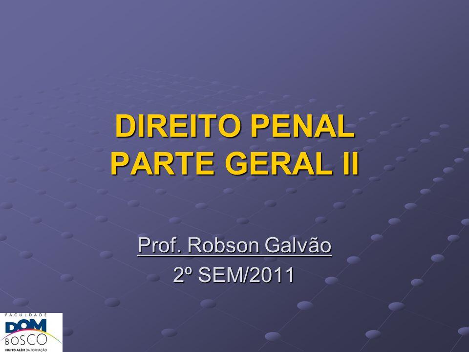 DIREITO PENAL PARTE GERAL II