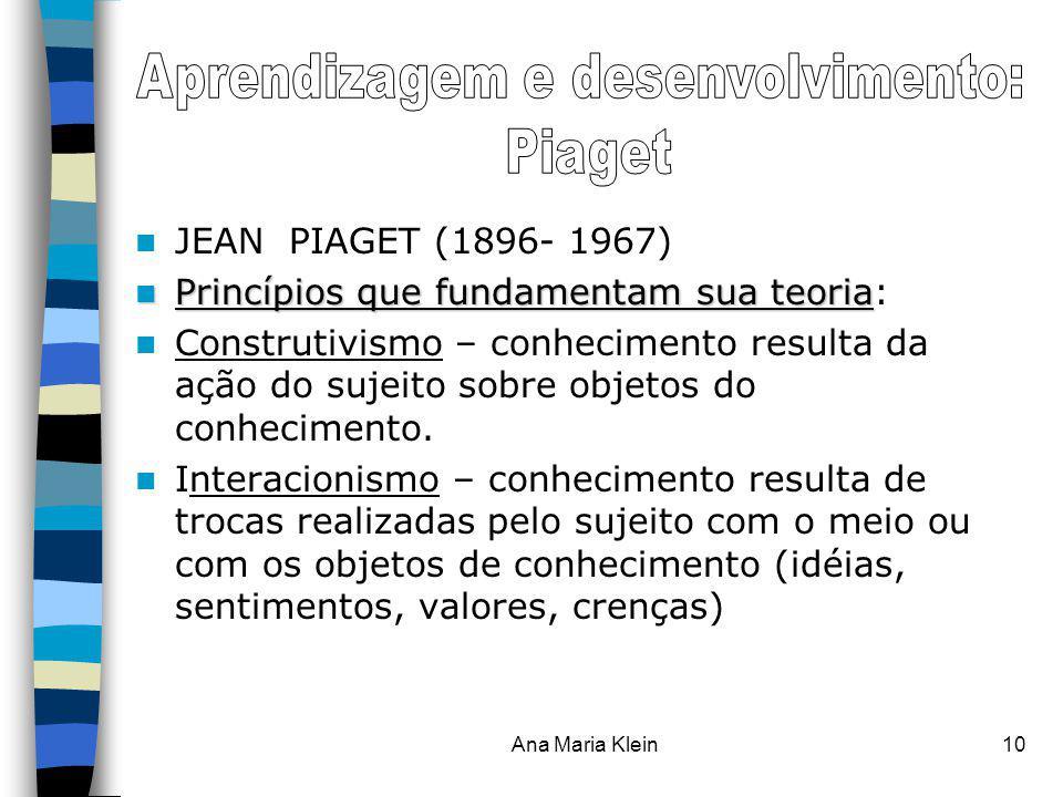 Aprendizagem e desenvolvimento: