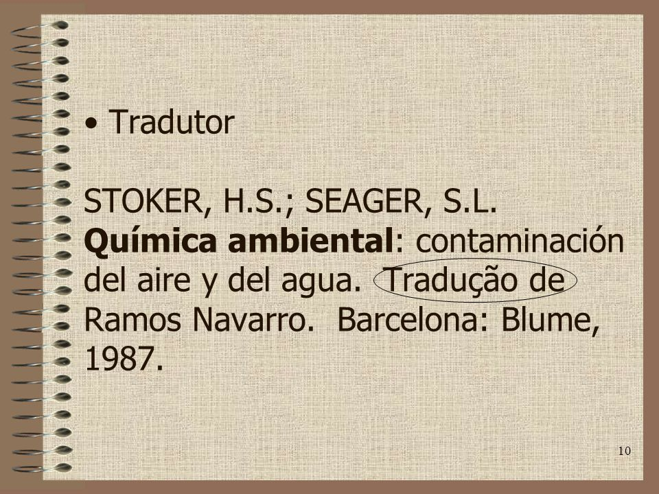 Tradutor STOKER, H. S. ; SEAGER, S. L