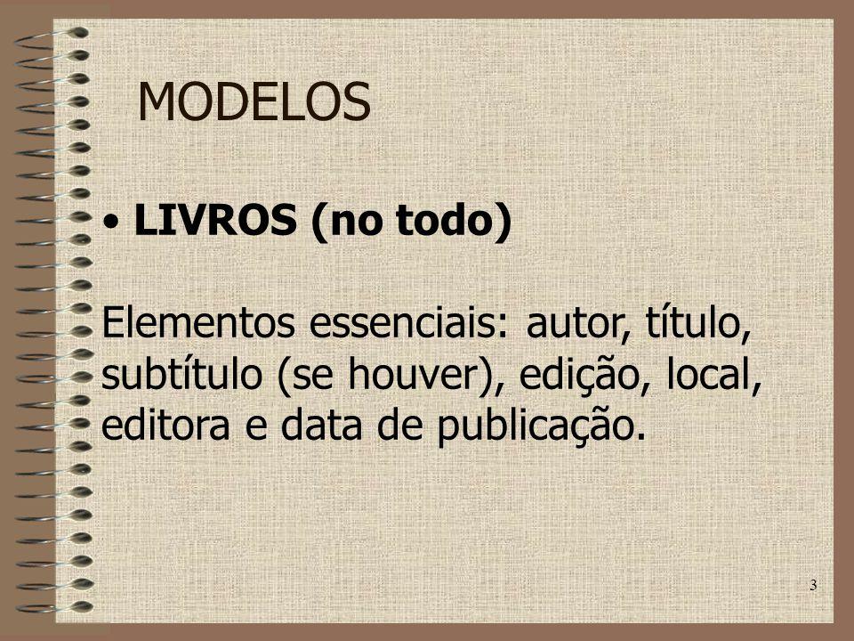 MODELOS LIVROS (no todo)