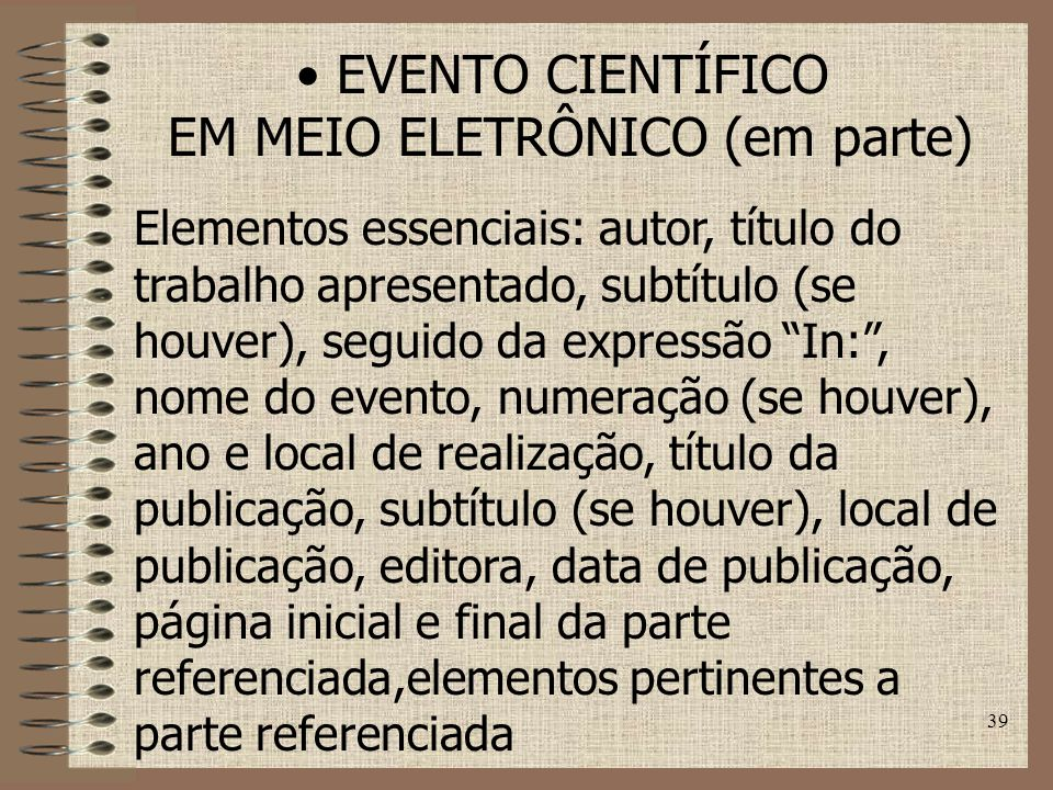 EM MEIO ELETRÔNICO (em parte)