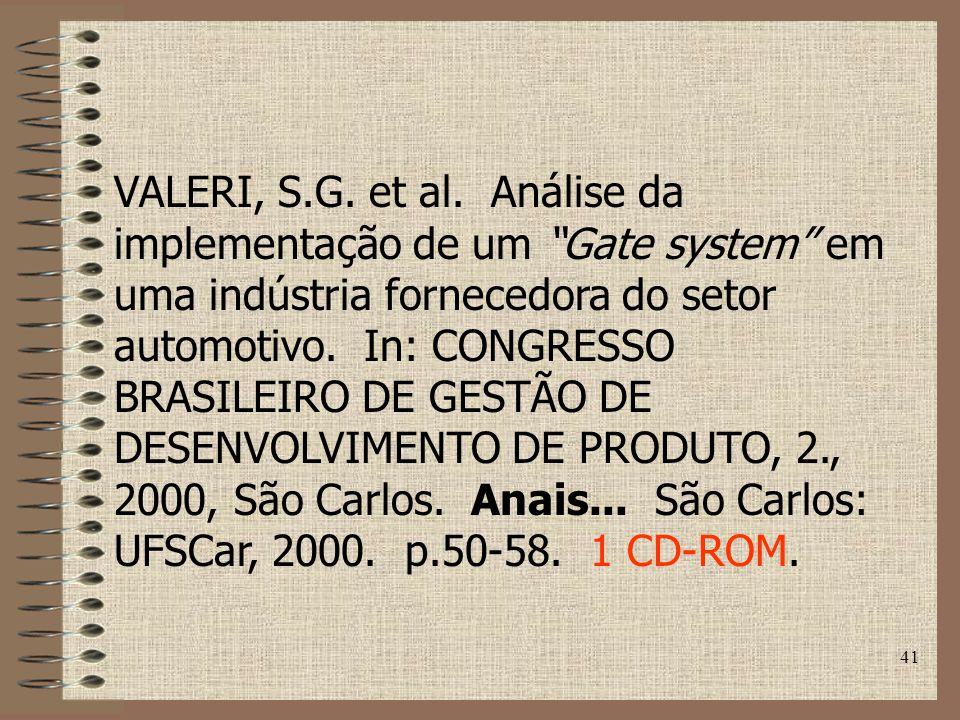 VALERI, S.G. et al.