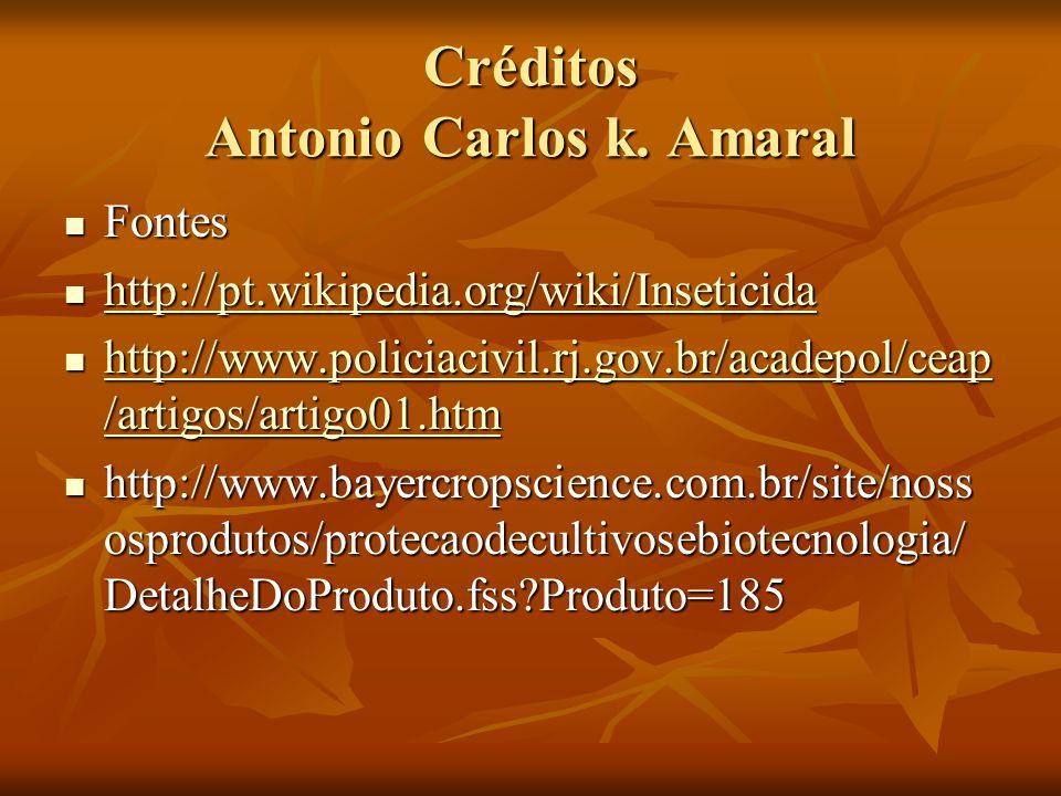 Créditos Antonio Carlos k. Amaral