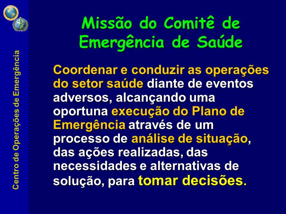 Missão do Comitê de Emergência de Saúde