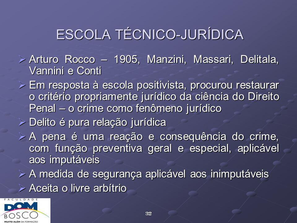 ESCOLA TÉCNICO-JURÍDICA