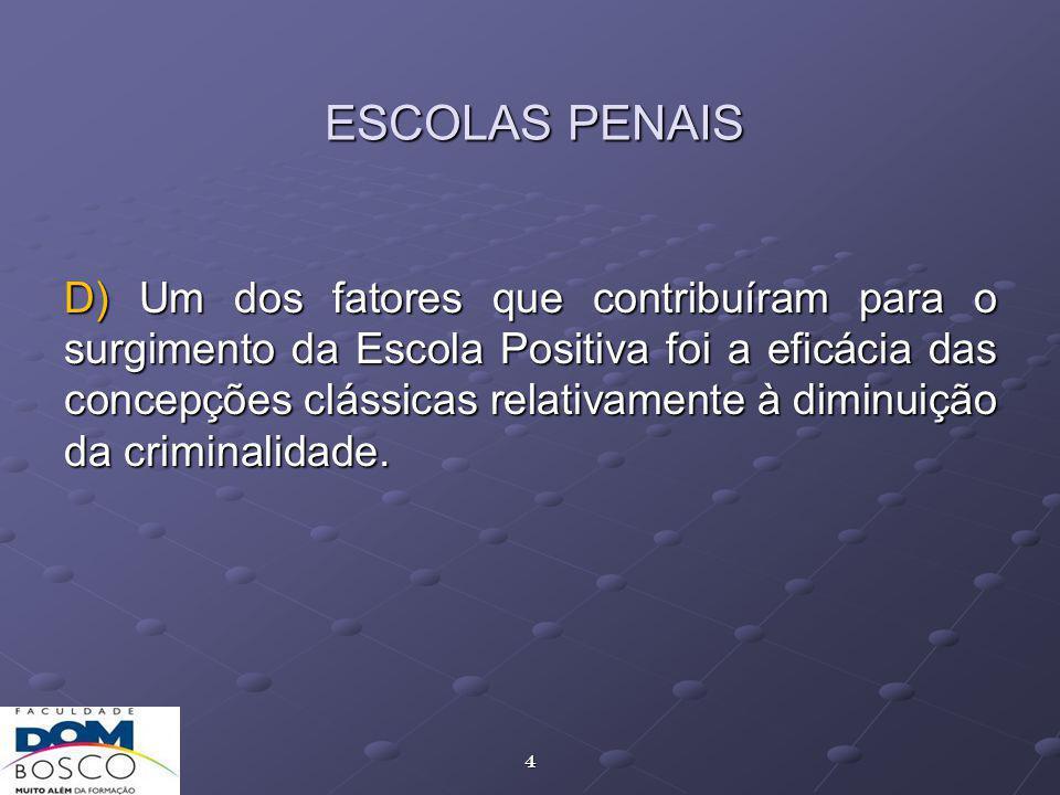 ESCOLAS PENAIS