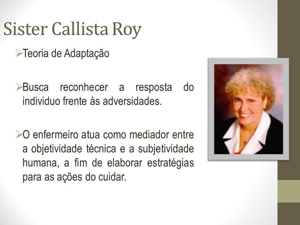 Sister Callista Roy Teoria de Adaptação