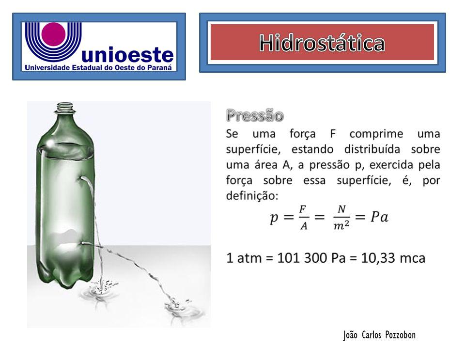 Hidrostática João Carlos Pozzobon
