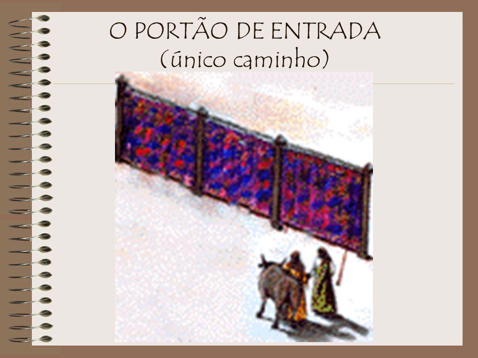 O PORTÃO DE ENTRADA (único caminho)