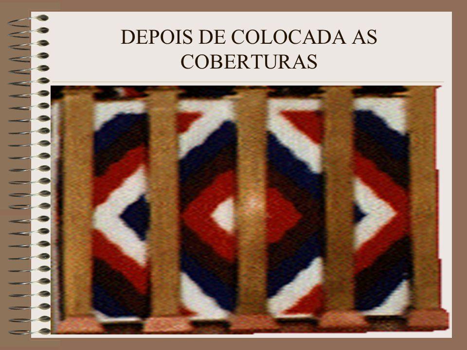 DEPOIS DE COLOCADA AS COBERTURAS