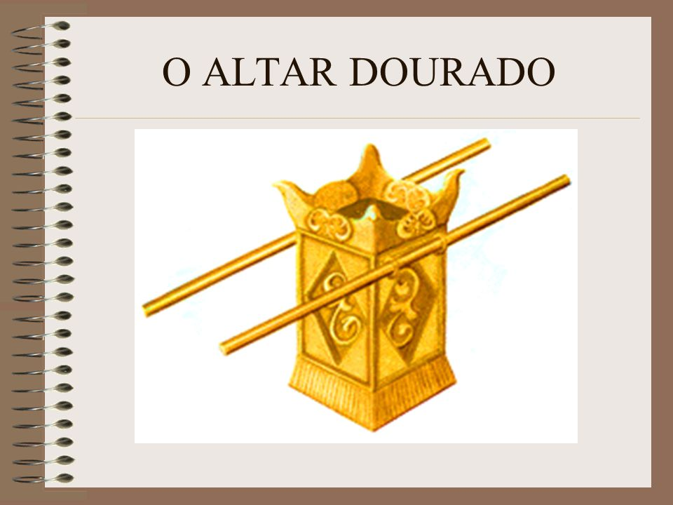 O ALTAR DOURADO