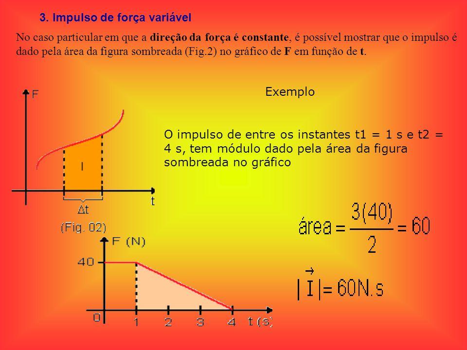 3. Impulso de força variável