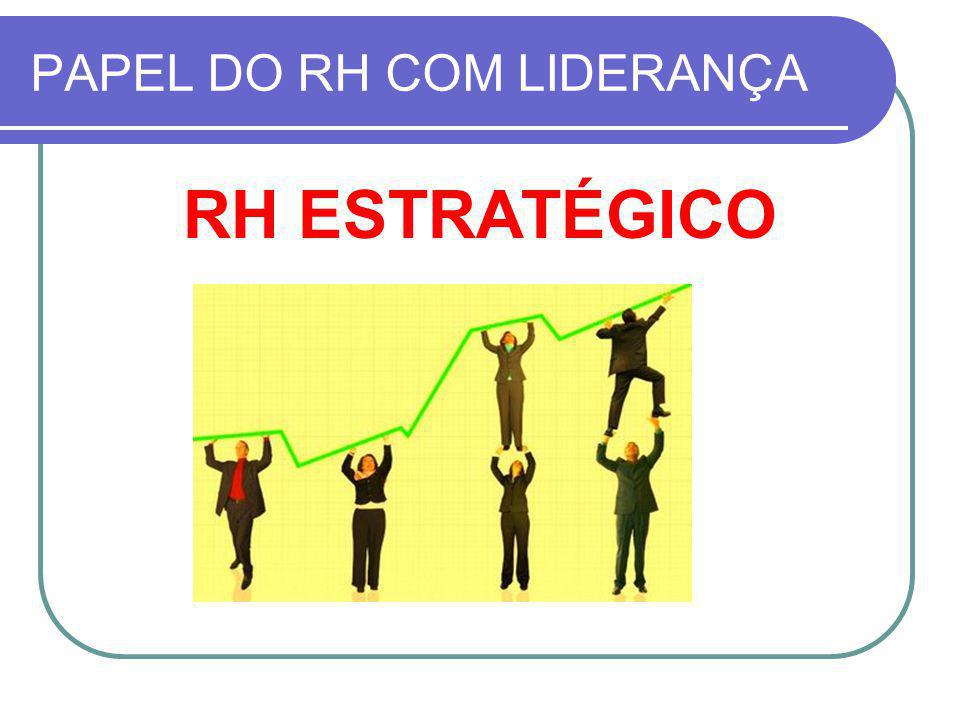 PAPEL DO RH COM LIDERANÇA
