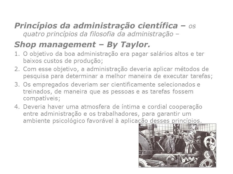 Shop management – By Taylor.