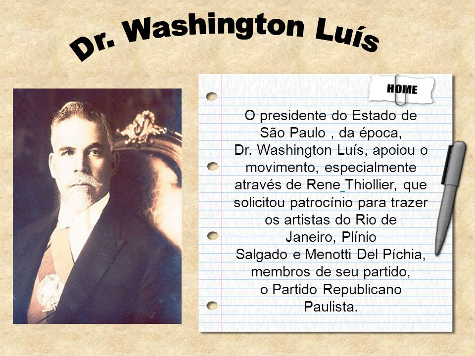 Dr. Washington Luís