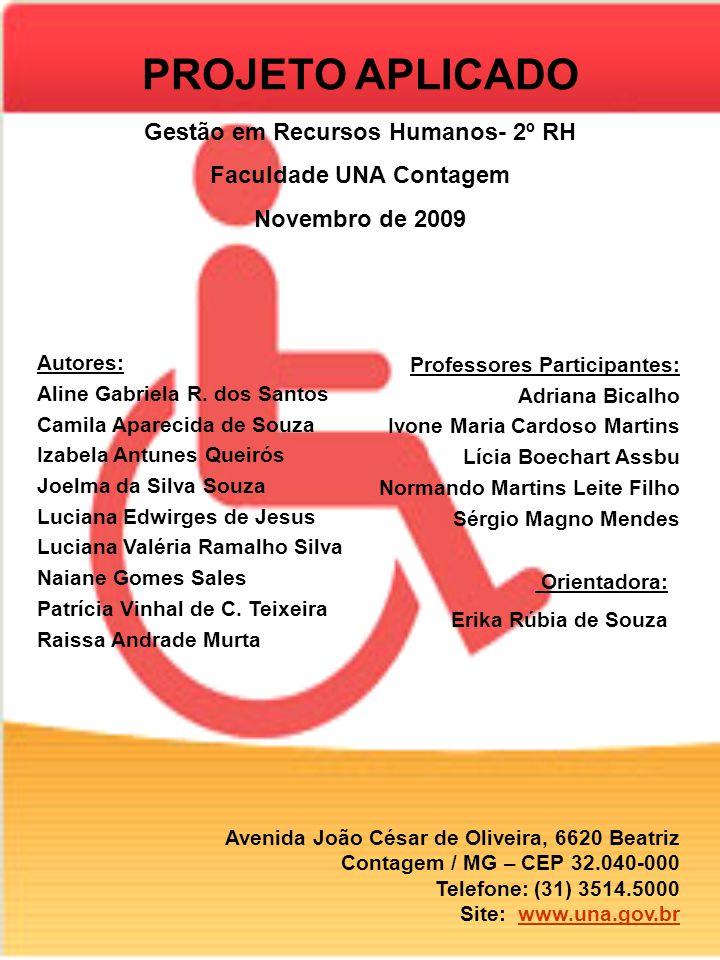 Gestão em Recursos Humanos- 2º RH Faculdade UNA Contagem