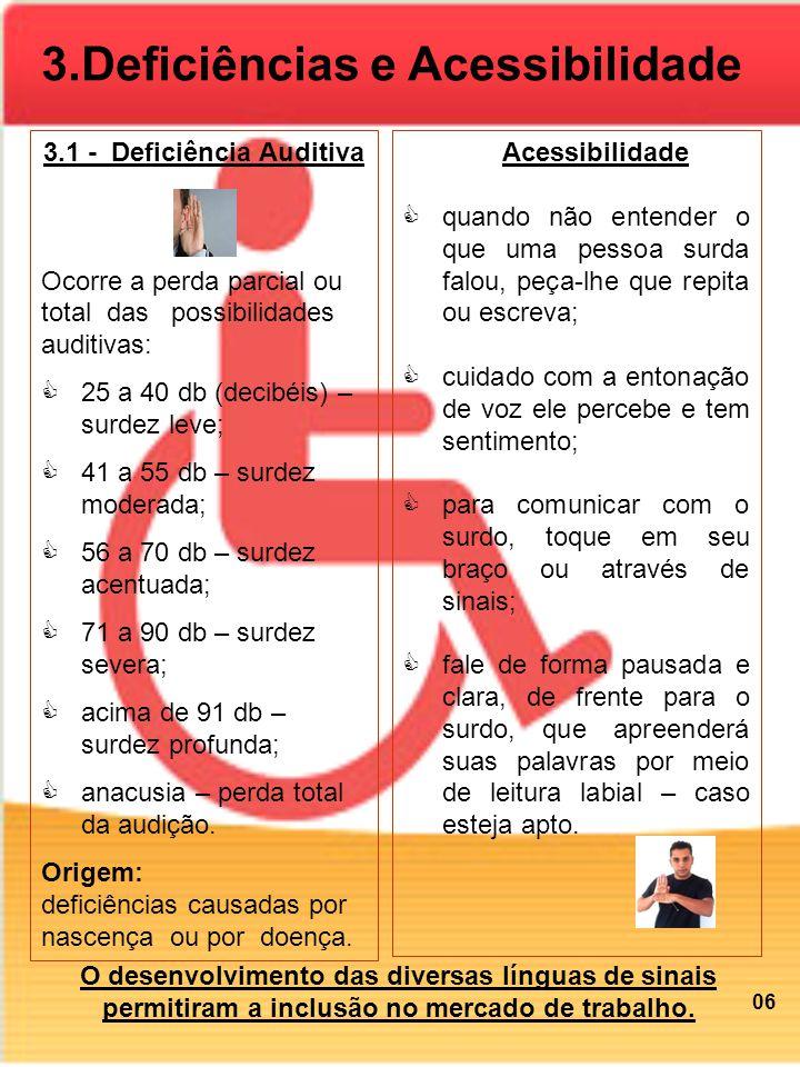 3.1 - Deficiência Auditiva