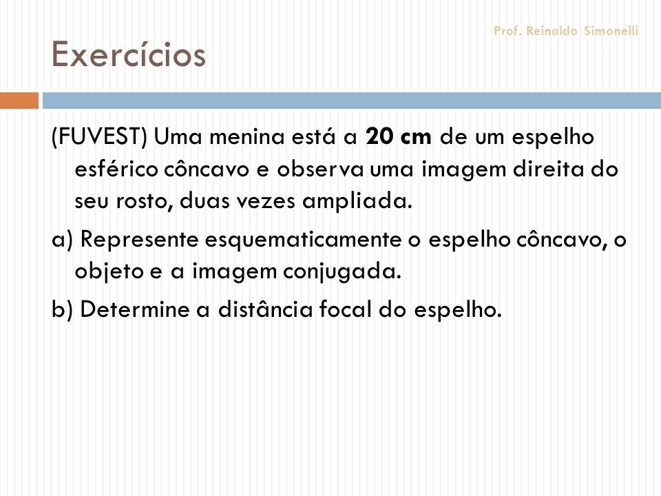 Exercícios Prof. Reinaldo Simonelli.